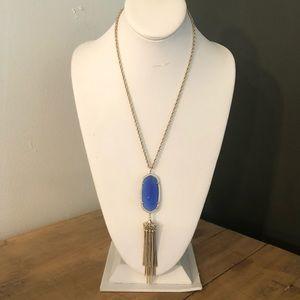 [Kendra Scott] Gold/Blue Stone Rayne Necklace